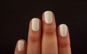 Sally Hansen 300, White On