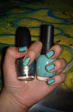 Nail art, Chanel, Sephora by OPI, Fingerpaints