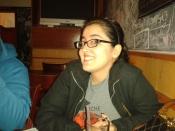 Lucía está contenta.