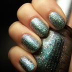 Random manicure: China Glaze en Optical Illusion