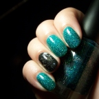 Random manicure: Color Club en Holiday Splendor